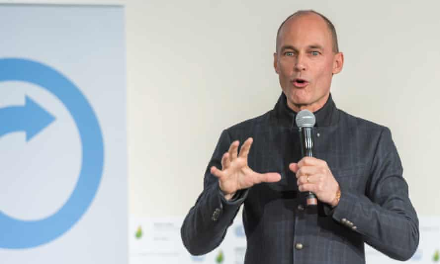 Bertrand Piccard pilot and chairman of the Solar Impulse solar-powered flight project