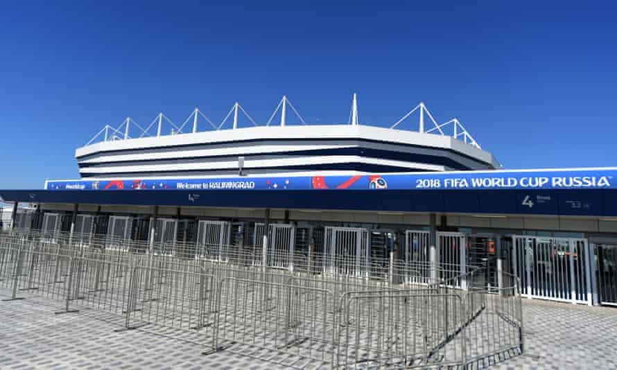The Kaliningrad Arena where England will take on Belgium
