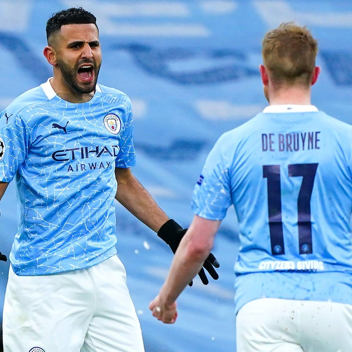 Mahrez Fires Manchester City Past Psg Into First Champions League Final Champions League The Guardian