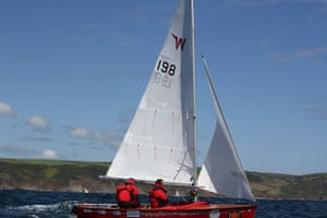 The dinghy during the circumnavigation