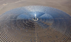 Solar Reserve's 110MW Crescent Dune plant in Nevada, US, will be a blueprint for its planned solar thermal plant in Port Augusta, South Australia.