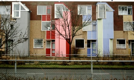 Social housing in Amere, the Netherlands.
