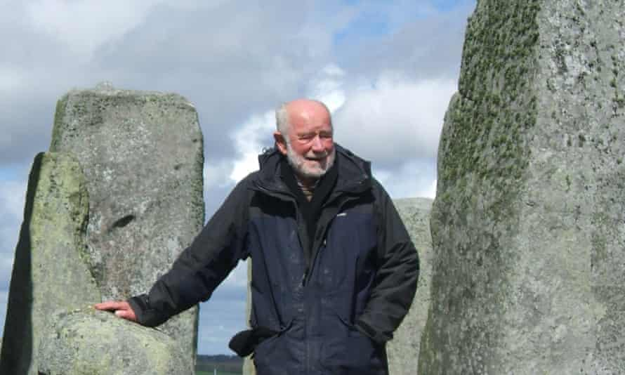 Geoff Wainwright at Stonehenge, the proving ground for many of his ideas about the management of the historic environment.