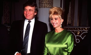 Ivana and Donald Trump in 1991.