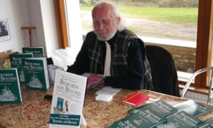 Harry Titcombe at a signing for his book Bedfords and Beyond, which was published last year
