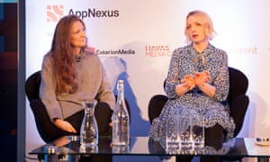 Sam Baker and Lauren Laverne, founders of The Pool, a website aimed at women, which closed on Friday.