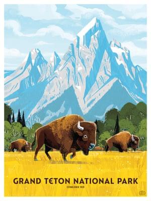 Grand Teton by Kim Smith
