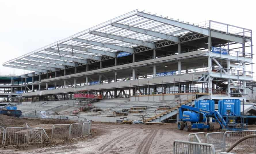 The Dons Trust chairman Mark Davis said costs for the new 9,000-seat stadium had increased to £31.5m.