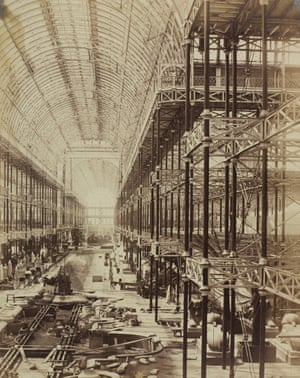 The reconstruction of The Crystal Palace – originally built in Hyde Park for the Great Exhibition of 1851 – at Sydenham Hill