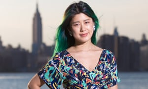 Arrived … Jenny Zhang, photographed by the East River in Brooklyn, New York.