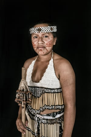 Keila Pereira Alexandre, 15, from the Macuxi tribe in Uiramutã