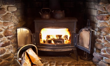 Wood-burning stoves may expose people to higher levels of particulate matter than the street.