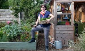 Gardening editor Jane Perrone in her garden
