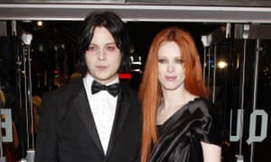 Karen Elson with Jack White in 2008