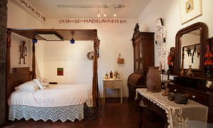 Frida Kahlo's bedroom has been preserved for visitors to La Casa Azul.