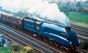Mallard  steam locomotives  in 1966