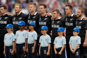 The New Zealand team, inspired by Kane Williamson, had been dubbed 'dark horses' throughout the tournament and overturned India in the semis