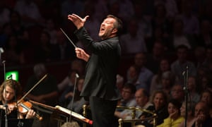 Thomas Adès conducts the Britten Sinfonia in Prom 40 at the Royal Albert Hall, London