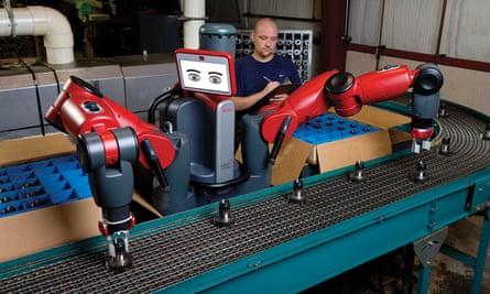 Baxter, by Rethink Robotics.