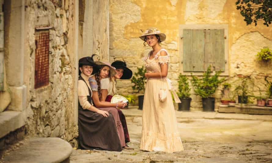 Period dresses, Festival of Subotina
