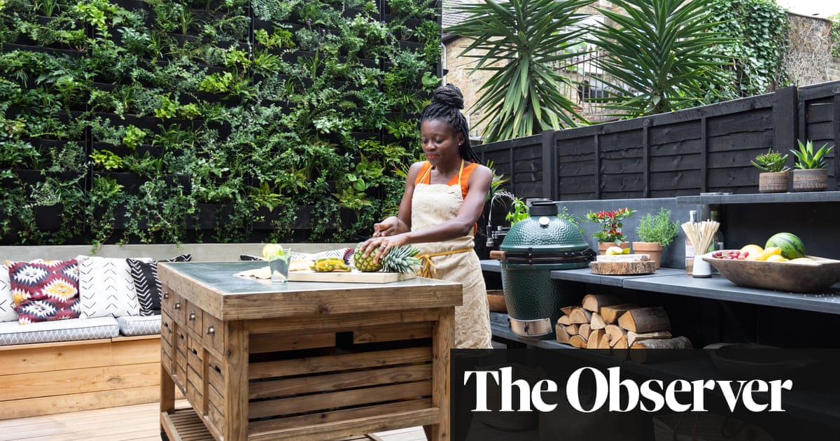 Chef's London home merges West African, Japanese and Scandi influences