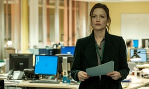 Who's watching?: Holliday Grainger in The Capture.
