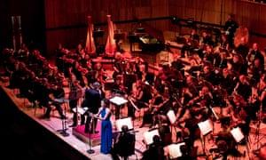 Esa-Pekka Salonen conducts the Philharmonia at the Royal Festival Hall