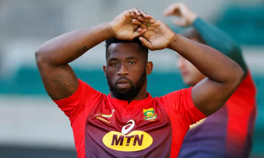 South Africa captain Siya Kolisi led his team to a famous victory over New Zealand in Wellington.
