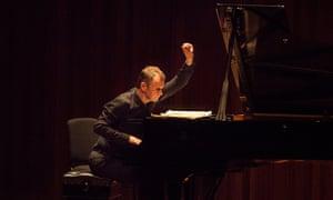 Steven Osborne, who performed alongside Alban Gerhardt at St George's in Bristol
