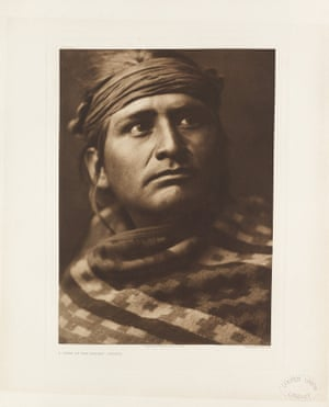 Navaho. A chief of the desert. Southwestern United States.