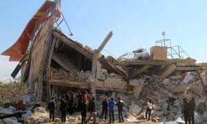 MSF hospital in Idlib, Syria