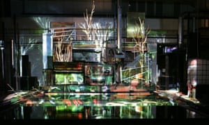 Ponds, pipes and self-propelling pianos … Stifter's Dinge, a previous production by Goebbels.