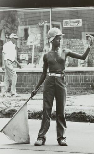Unidentified woman 1980