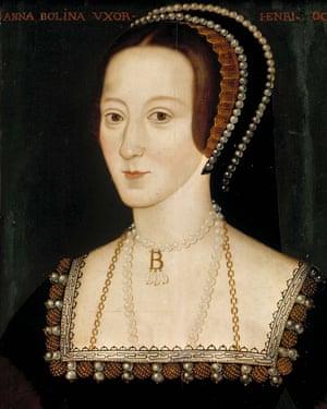 Anne Boleyn … on a catwalk near you.