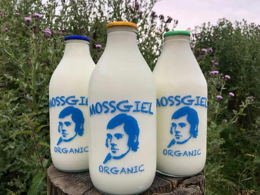 Mossgiel Farm, an 'at-foot' dairy in Ayrshire, has eliminated single-use plastic packaging
