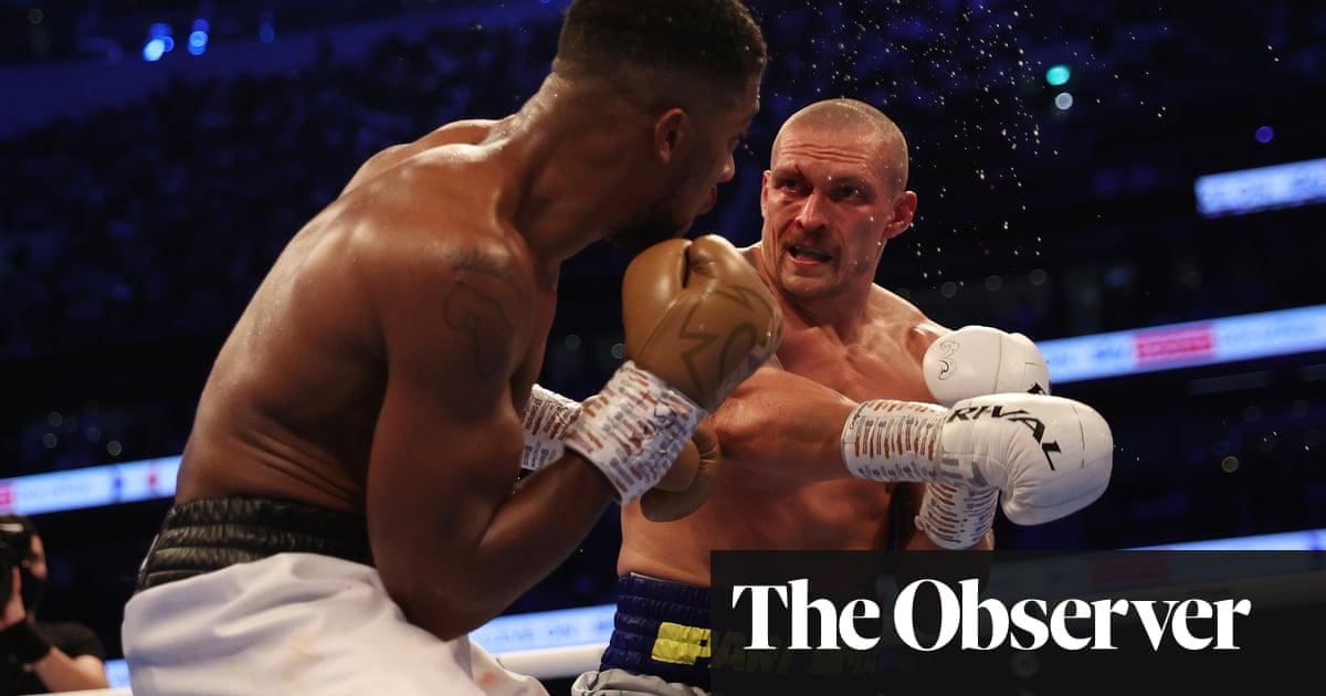 Boxing fans revel in cathartic energy of Anthony Joshua v Oleksandr Usyk