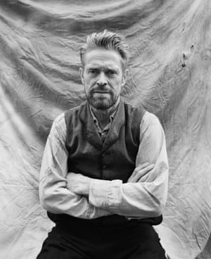 """Untitled, from A Story with Vincent, by Lily GavinLily Gavin, the New-York based multidisciplinary artist presents her on-set photographs from Julian Schnabel's new film """"At Eternity's Gate"""" , about Van Gogh's life in Arles – at the Mécanique Générale and Grande Halle, Parc des Ateliers."""