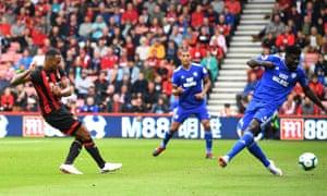 Bournemouth's Callum Wilson seals the win.