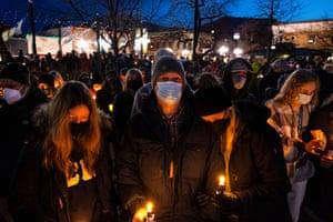 A candlelight vigil in Boulder, Colorado