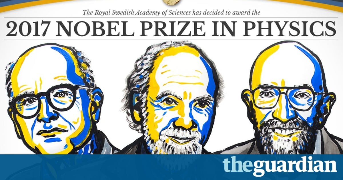 Nobel prize in physics awarded for discovery of gravitational waves