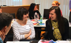 Teachers and librarians at Reading for pleasure, 23 March