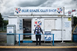 The club shop at Central Park, Cowdenbeath. The perfect antidote to those who have grown weary with the relentless commercialisation of football.