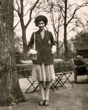 Ursula Cohn in 1940