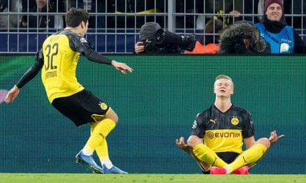Erling Braut Haaland still shows a love of football itself.