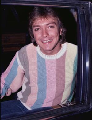 David Cassidy in 1983