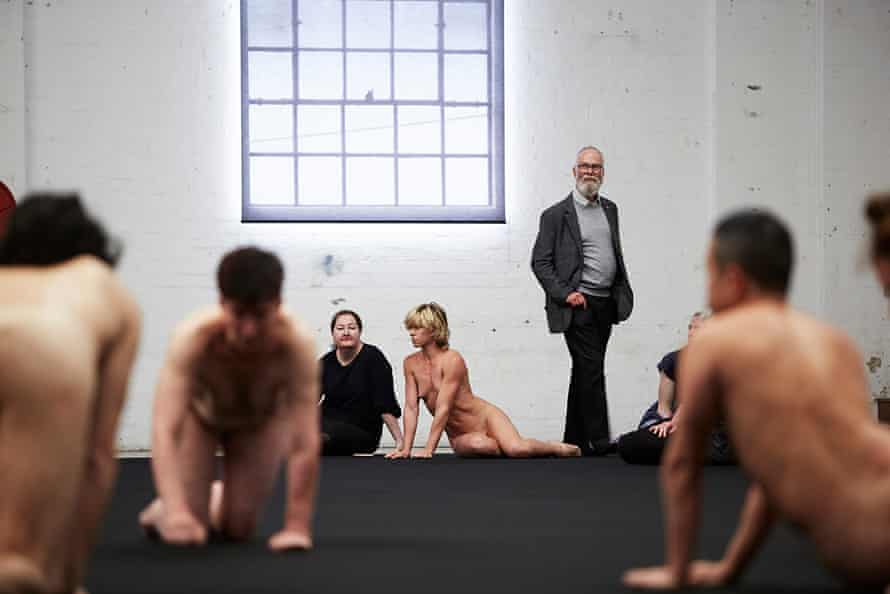 Open rehearsals for Temporary Title at Carriageworks. Sydney, November 2015.