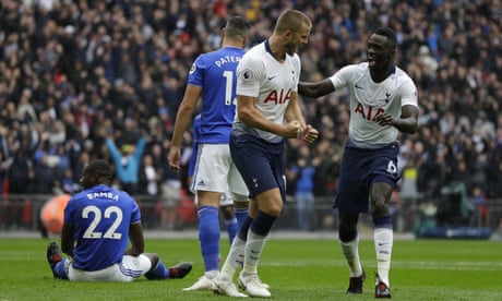 Eric Dier fires home to steer Tottenham past 10-man Cardiff City