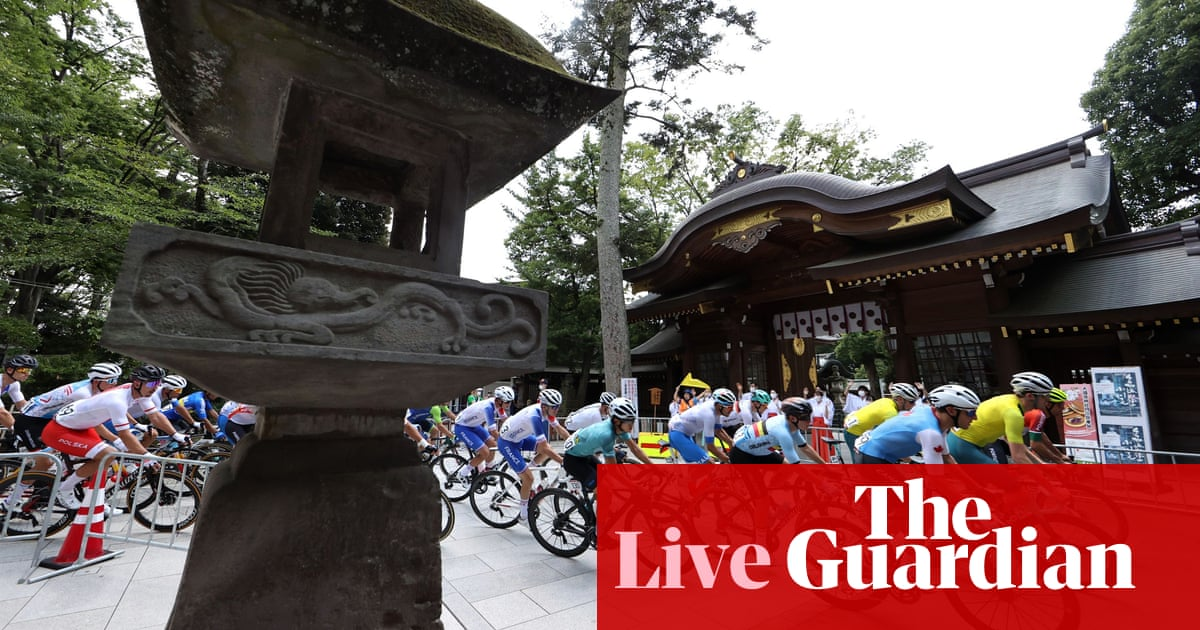 Tokyo Olympic Games 2020: men's road race, first gold won, boxing, swimming and more – live!