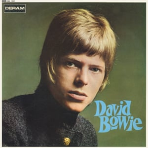 """David Bowie At that point, Bowie was just another new star coming up. That album cover could have come out at any time in the preceding 30 years: """"I'm a singer, here's my song."""" But you sort of think """"Who is this guy and why is he not quite smiling?"""". I think that sort of vibrancy, urgency and a little bit of mystery are the three things I love about this cover. This was just five years before Ziggy – it was a long way to travel, but it was a fascinating album"""