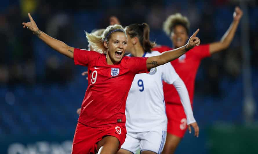 Rachel Daly plays her club football for the Houston Dash in the US.